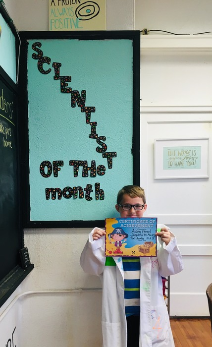 Plumlee - Scientist of the Month 2