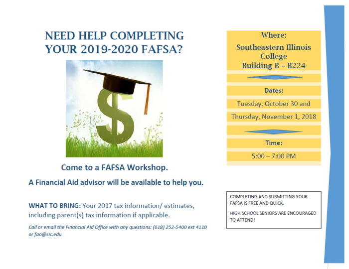 SIC FAFSA Workshop