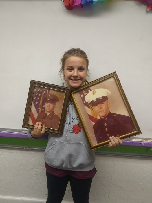 baylee and her veterans