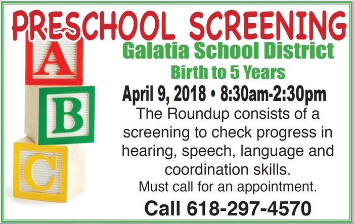 PreK Screening