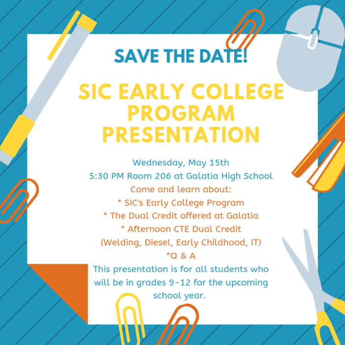 SIC Early College Program Presentation